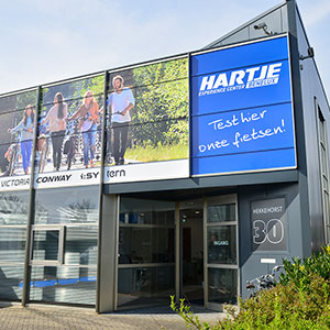 Sales office in Belgium