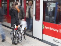 Die Welt berichtet über das TERN ADFC-HVV Faltradprojekt in Hamburg