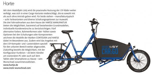 Der Konfigurator mein-wunschrad.com vorgestellt in der Fahrrad News 01/2015