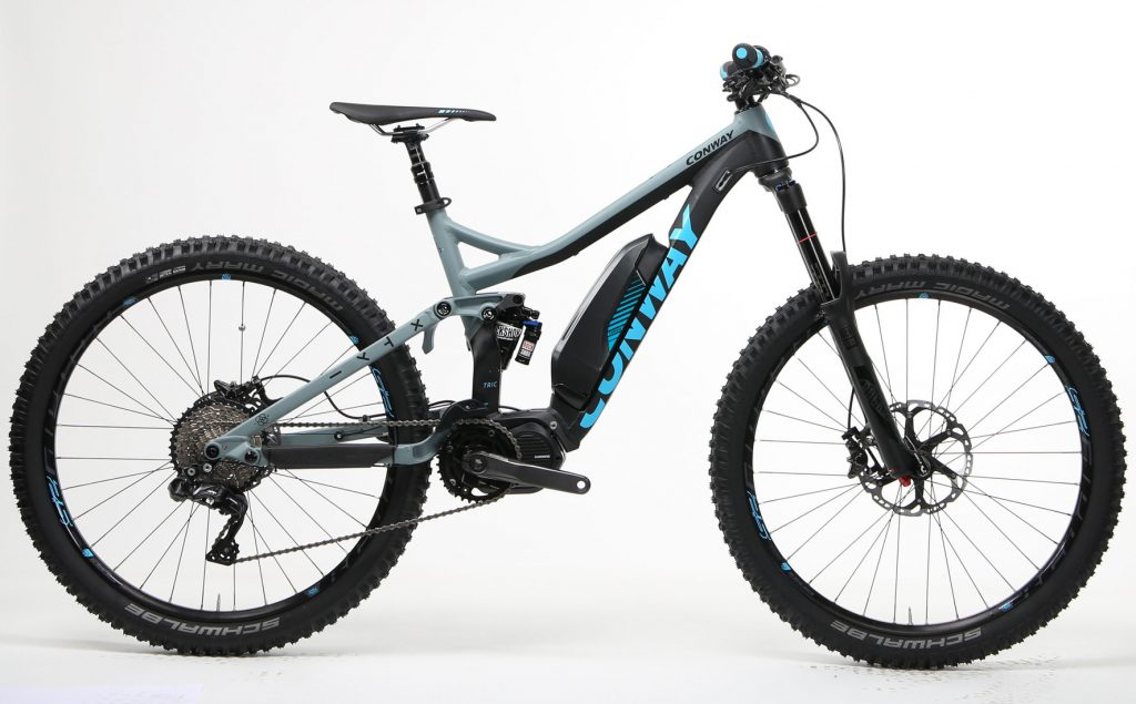 Lichte E Bike : Conway bikes