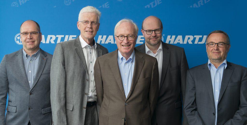 Hermann Hartje benennt weitere Geschäftsführer und Prokuristen ...