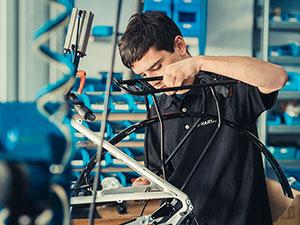 Zweiradmechatroniker (m/w) - Fachrichtung Fahrradtechnik