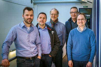 Das Ausbilder-Team der Hermann Hartje KG