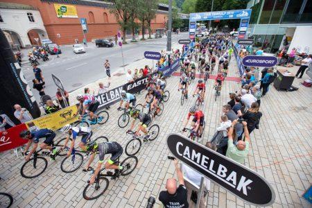 Tour Transalp Start CAMELBAK Co Sponsor