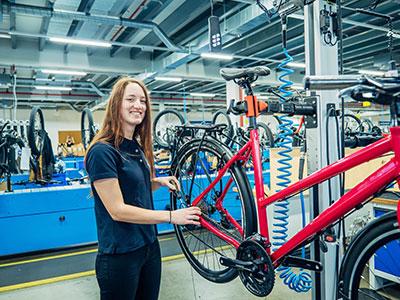 Zweiradmechatroniker (m/w/d) – Fachrichtung Fahrradtechnik